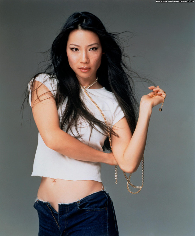 Lucy Liu No Source  Celebrity Beautiful Asian Babe Posing Hot