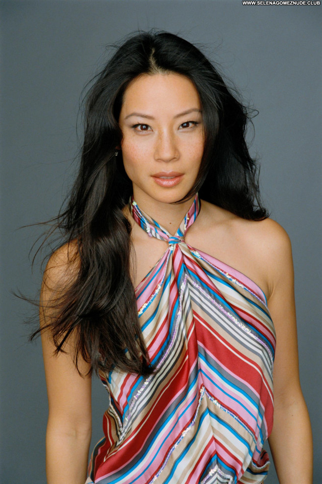 Lucy Liu No Source Beautiful Posing Hot Babe Celebrity Asian
