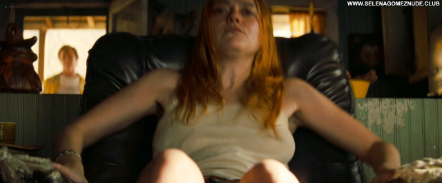 Dakota Fanning Once Upon A Time In Hollywood Posing Hot Big Tits